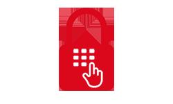 Coming Soon Security keypad padlock 150x250